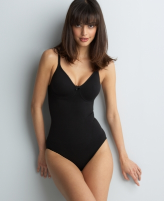 Body Wrap Bodysuit, Firm Control Underwire