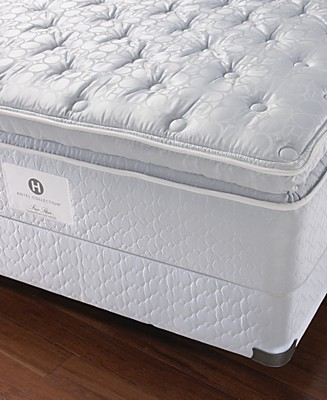 "Hotel Collection by Stearns & Foster ""Grand"" Cushion Firm Euro Pillowtop Mattress Sets - Customers'"