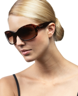 Steve Madden Large Butterfly Glam Sunglasses