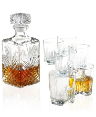 "Bormioli Rocco ""Selecta"" 7-Piece Whiskey Glassware Set"