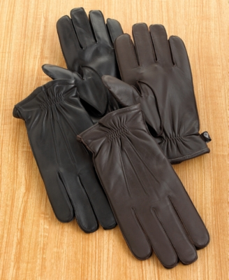 Leather Gloves - Isotoner