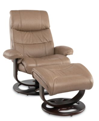impulse swivel recliner chair with ottoman furniture macy 39 s