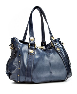 "Kathy Van Zeeland ""Toggle"" Flap Shopper - Totes & Top Handles Handbags - Women's - Macy's from macys.com"