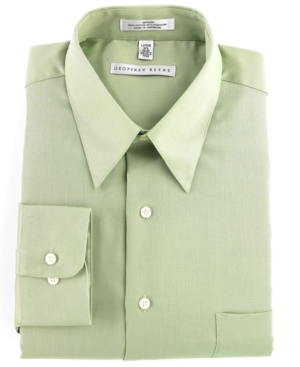 Geoffrey Beene Big and Tall Dress Shirt, Wrinkle Free Sateen