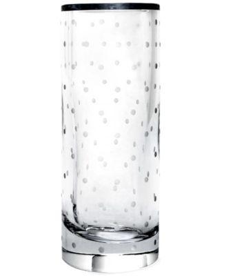 "kate spade new york 10"" Larabee Dot Cylinder Vase"