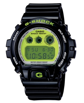 G-Shock Watch, Men's Black Polyurethane Strap DW6900CS-1