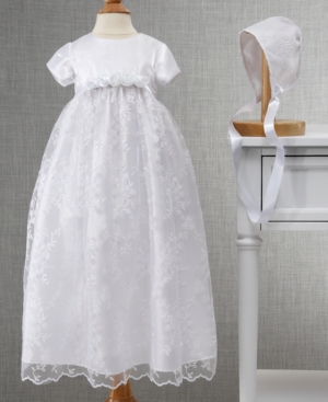 Cherish the Moment Embroidered Gown with Rosettes