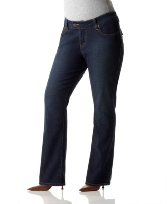 Levi's Plus Size Jeans, 542 Trouser Flare Seaside Wash