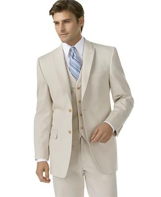 Calvin Klein Tan Cotton Suit Separates Suit Separates Suits Suit
