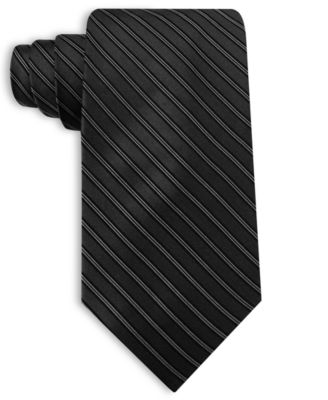 Perry Ellis Tie, Manor Stripe Silk
