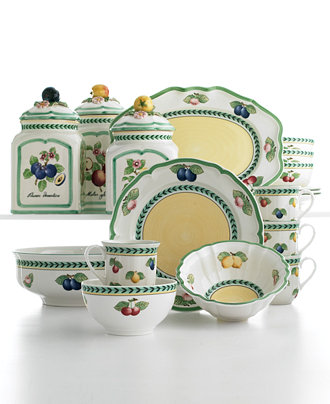 French Country Dinnerware For Relaxed Entertaining And
