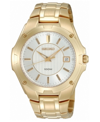 Gold Quartz Watch - Seiko