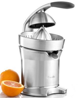 Breville 800CPXL Juicer, Motorized Citrus Press