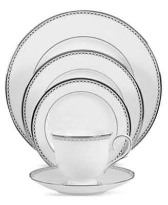 Lenox Pearl Platinum 5-Piece Place Setting