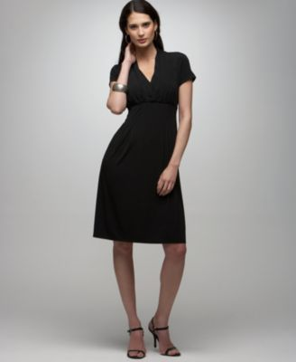 Alfani Short-Sleeve Empire-Waist Dress