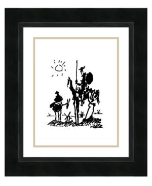 Amanti Art Don Quixote Framed Art Print by Pablo Picasso