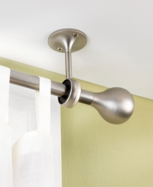 umbra window treatments, ceiling mount brackets, set of 2 bedding