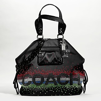 COACH POPPY RHINESTONE SHOULDER BAG - Poppy Handbags - COACH  - Macy's :  poppy handbags coach poppy rhinestone shoulder bag coach
