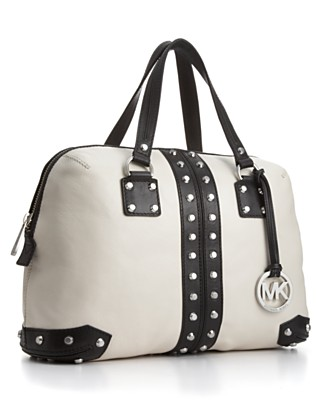 MICHAEL Michael Kors Handbag, Uptown Astor Satchel, Large - New Arrivals - Handbags & Accessories  - Macy's from macys.com