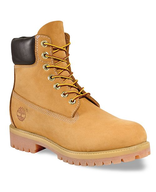 Matón Mareo Monet  Timberland Men's 6-inch Premium Waterproof Boots & Reviews - All Men's  Shoes - Men - Macy's