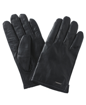 Calvin Klein Gloves, Cashmere Lined Leather