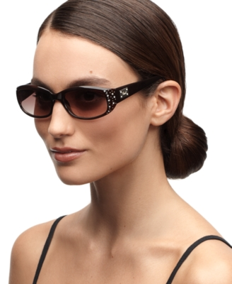 Fossil Sunglasses, Daisy Rectangle