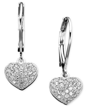 Eliot Danori Earrings, Crystal Heart