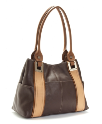 Leather Bowler Bag - Tignanello