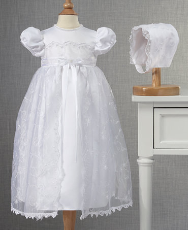 Lauren Madison Baby Girls Christening Gown Kids Macy S