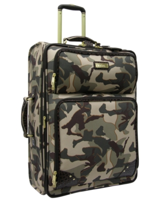 "Nicole Miller Suitcase, 25"" Kinjah Expandable Upright"