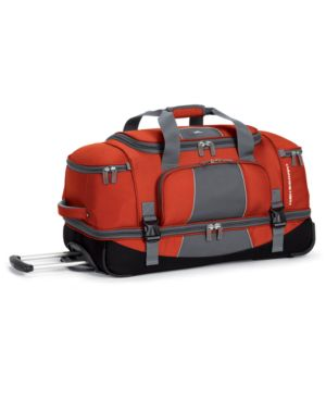 "High Sierra Rolling Duffel, 28"" Elevate Drop Bottom"