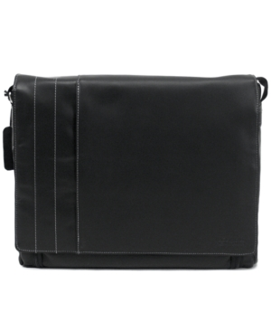 Kenneth Cole Reaction Messenger Bag, Manhattan Leather Laptop Carrier