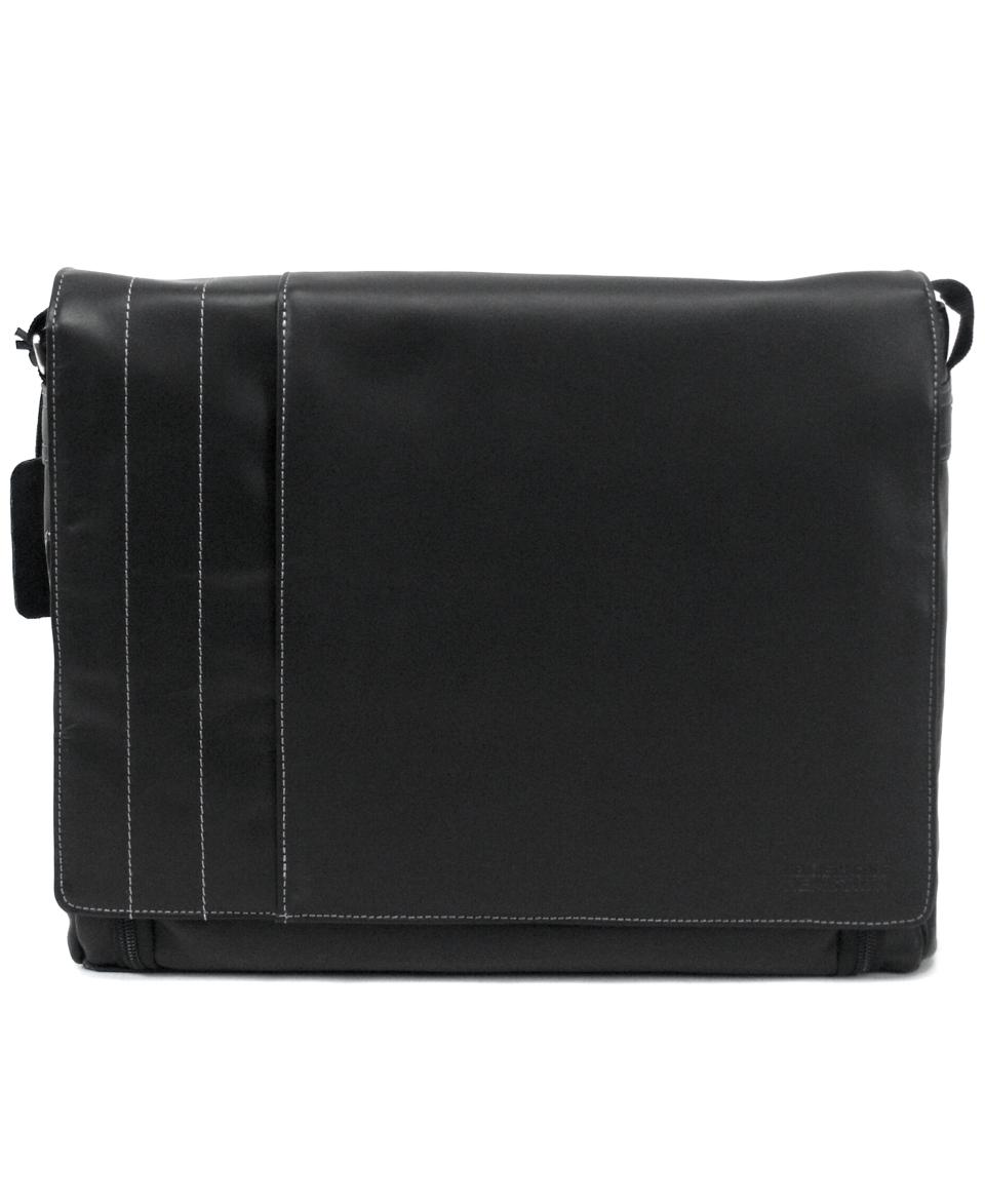 Kenneth Cole Reaction Manhattan Leather Laptop Messenger Bag   Backpacks & Messenger Bags   luggage