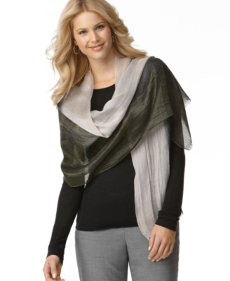 Echo Wrap, Evening Ombre with Fringe
