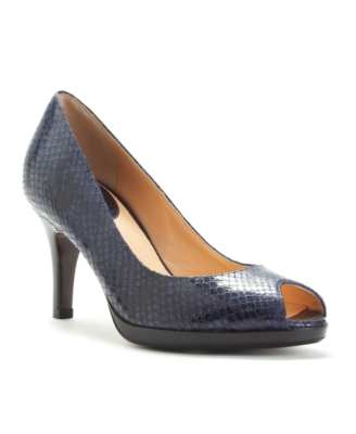 Cole Haan Shoes, Carma Air Peep Toe Pumps Women's Shoes