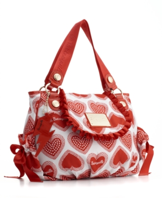 Betseyville by Betsey Johnson Handbag, B My Sweetheart Satchel