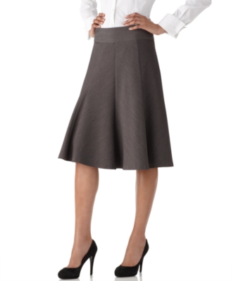 Rafaella Skirt, Knee Length Godet