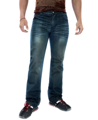 Do Denim Jeans, Distressed Straight Leg