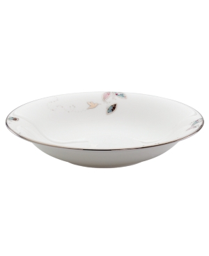 Lenox Lifestyle Dinnerware, Silver Song Individual Pasta Bowl