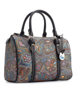 Printed Shoulder Bag - Dooney & Bourke
