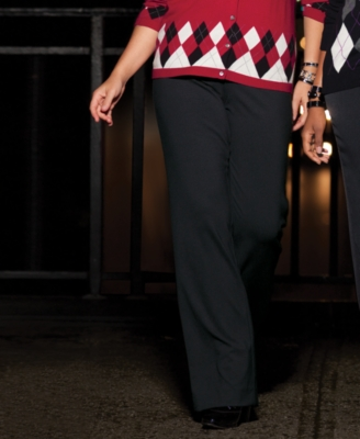 Charter Club Plus Size Pants, Slim It Up