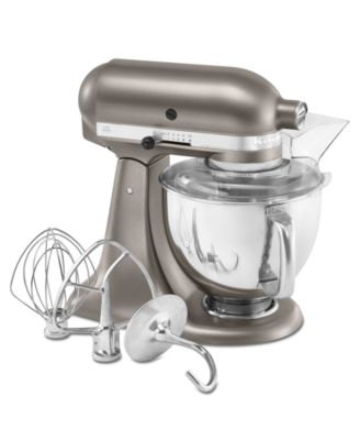 KitchenAid KSM150APSCS Stand Mixer, Architect 5 Qt. Tilt-Head