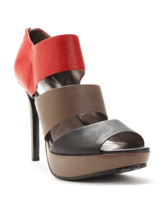 Calvin Klein Shoes, Remini Peep Toe Sandals Women's Shoes