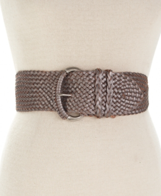 Fossil Belt, Wide Woven Twist - Oversized Belt