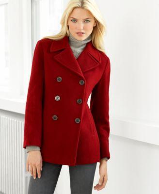 Calvin Klein Double Breasted Pea Coat