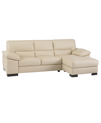 ... Sofa (One-arm Loveseat & One-arm Chaise) - Furniture - Macy's