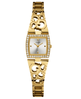 GUESS Watch, Women's Goldtone Stainless Steel Bracelet U95141L1
