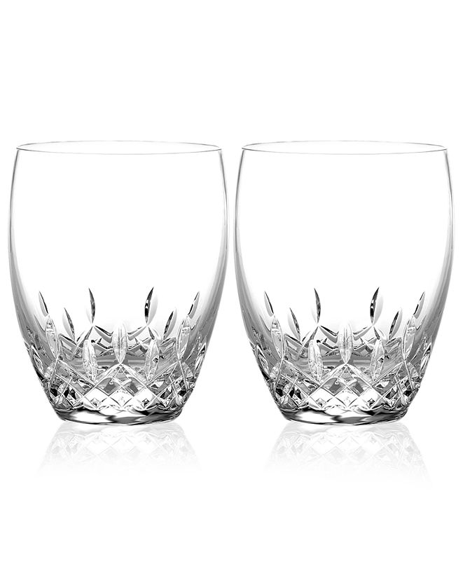 Waterford Barware Lismore Essence Double Old Fashioned Glasses, Set of 2