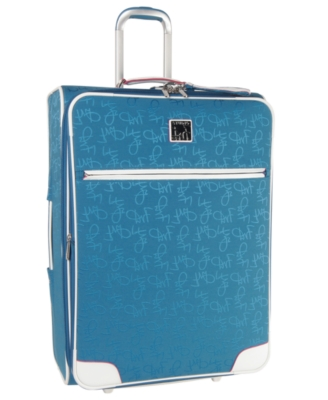 "Diane Von Furstenberg Suitcase, 21"" Color on the Go Carry-On"