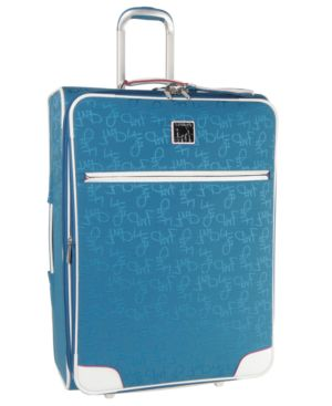 "Diane Von Furstenberg Suitcase, 25"" Color On The Go Upright"